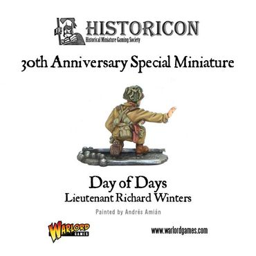 Dick Winters Day of Days Historicon 2014 Special Miniature 28mm – Bild 2