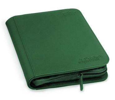 4-Pocket Zipfolio XenoSkin Green – Bild 1