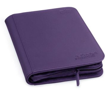 4-Pocket Zipfolio XenoSkin Purple