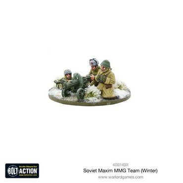 Soviet Maxim MMG Team (Winter) 28mm – Bild 3