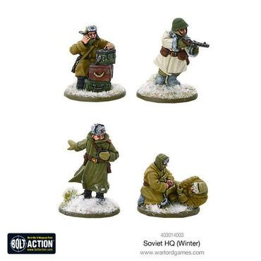 Soviet HQ (Winter) 28mm – Bild 1