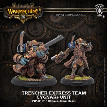 Cygnar Trencher Express Team Unit