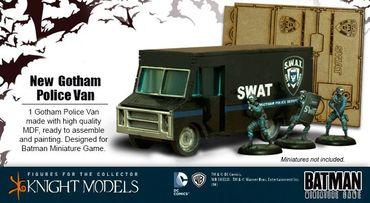 Gotham Police Van 35mm