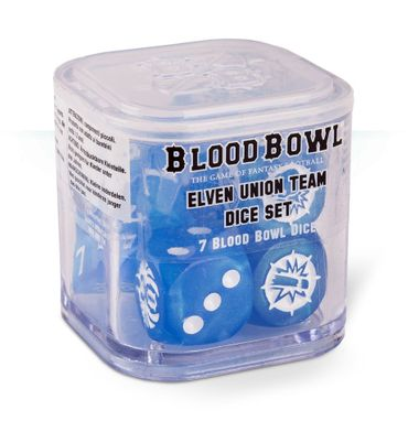 Blood Bowl Elven Union Team Dice Set (7)