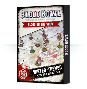 Blood Bowl Blood on the Snow Pitch and Dugouts