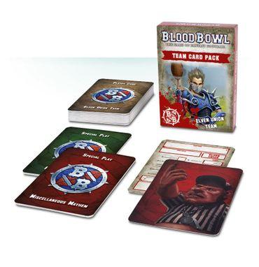Blood Bowl Elven Union Team Card Pack (Deutsch)