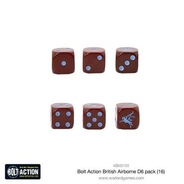 Bolt Action British Airborne W6 D6 Pack (16) – Bild 2
