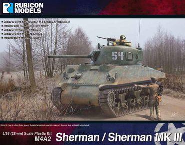 M4A2 Sherman / Sherman Mk III 1/56 (28mm) – Bild 1