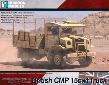 British CMP 15cwt Truck 1/56 (28mm)