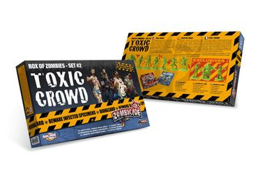 Zombicide Toxic Crowd Set #2