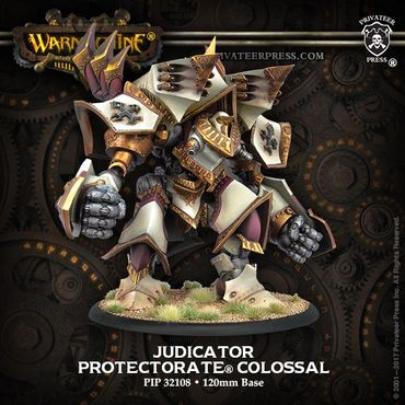 Protectorate of Menoth Judicator / Revelator Colossal Warjack – Bild 1