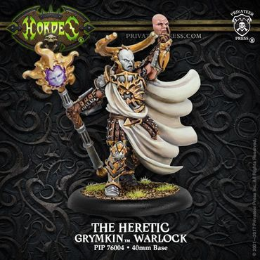 Grymkin The Heretic Warlock
