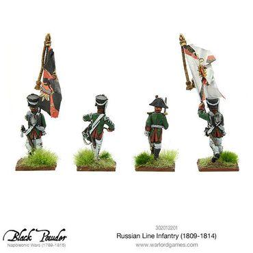 Napoleonic Russian Line Infantry 1809-1814 28mm – Bild 5