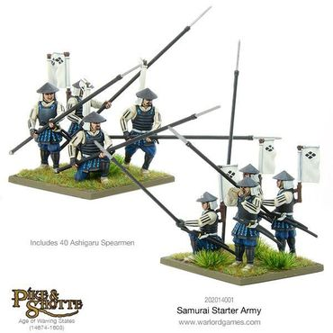 Pike & Shotte Samurai Starter Army 28mm – Bild 3