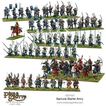 Pike & Shotte Samurai Starter Army 28mm – Bild 2