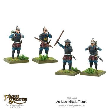 Pike & Shotte Ashigaru Missile Troops 28mm – Bild 4