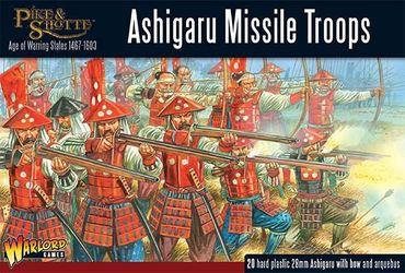 Pike & Shotte Ashigaru Missile Troops 28mm