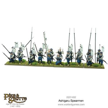 Pike & Shotte Ashigaru Spearmen 28mm – Bild 2