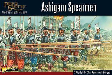 Pike & Shotte Ashigaru Spearmen 28mm