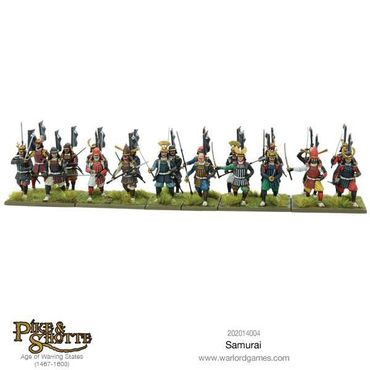 Pike & Shotte Samurai 28mm – Bild 2