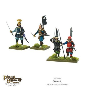 Pike & Shotte Samurai 28mm – Bild 5