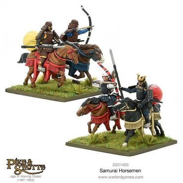 Pike & Shotte Samurai Horsemen 28mm – Bild 5
