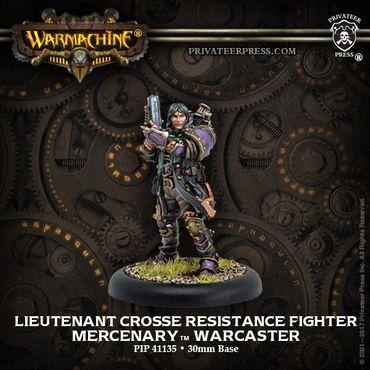 Mercenary Lieutenant Crosse, Resistance Fighter Warcaster