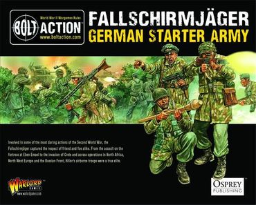 Bolt Action Starter Army - German Fallschirmjäger 28mm – Bild 1