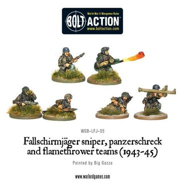 Bolt Action Starter Army - German Fallschirmjäger 28mm – Bild 3