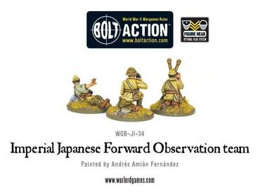 Imperial Japanese Forward Observer Team 28mm – Bild 2