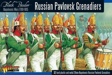 Napoleonic Wars Pavlovsk Grenadier Regiment 1789-1815 28mm – Bild 1