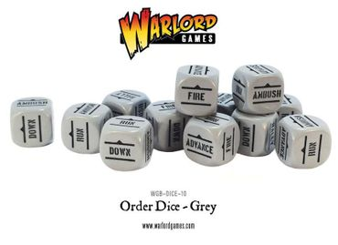 Bolt Action German Army Dice Bag and Grey Order Dice (12) – Bild 2