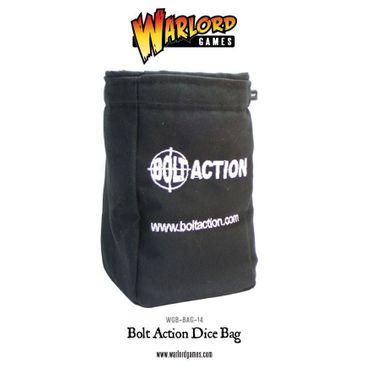 Bolt Action Dice Bag and Black Order Dice (12) – Bild 1