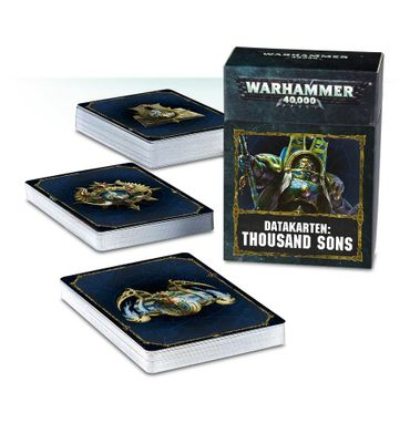 Thousand Sons Datakarten (Deutsch)