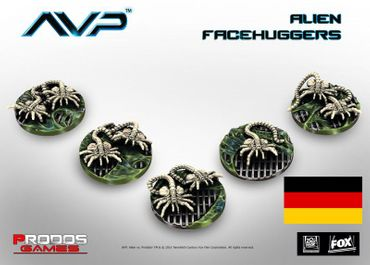 AVP Facehuggers (Deutsch) – Bild 1