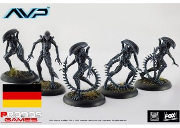 AVP Alien Infant Warriors (Deutsch) – Bild 1