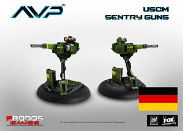 AVP USCM Sentry Guns (Deutsch) – Bild 1