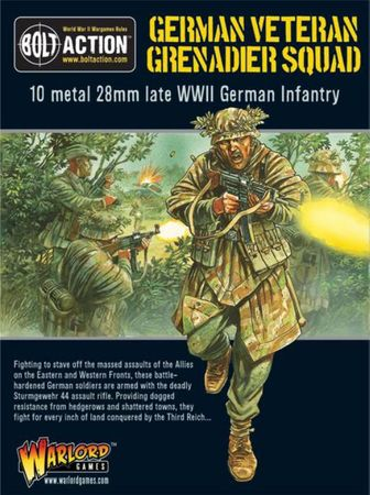 German Veteran Grenadier Squad 28mm