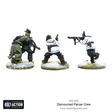 German Dismounted Panzer Crew 28mm – Bild 2