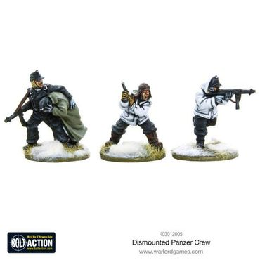 German Dismounted Panzer Crew 28mm – Bild 1