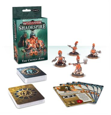 Warhammer Underworlds Shadespire Chosen Axes (Deutsch)