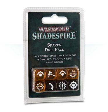 Warhammer Underworlds Shadespire Skaven Dice