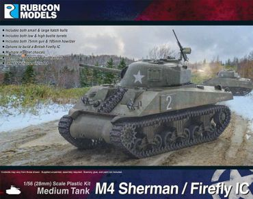 M4 Sherman / Sherman Firefly IC 1/56 (28mm)