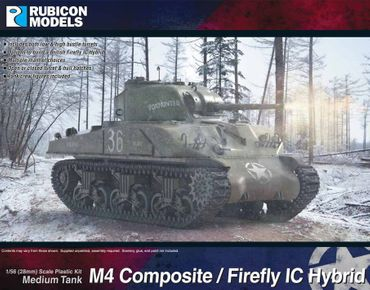 M4 Composite / Sherman Firefly IC Hybrid 1/56 28mm
