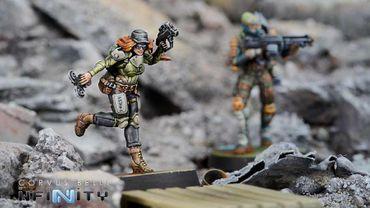 Mercs Warcors, War Correspondents (Stun Pistol) – Bild 2