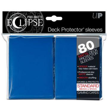 Ultra Pro Matte Eclipse Standard Sleeves Blue (80)