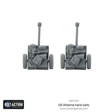 US Airborne Hand Carts 28mm – Bild 3