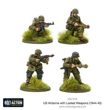US Airborne with looted German weapons (1944-45) 28mm – Bild 1