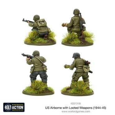 US Airborne with looted German weapons (1944-45) 28mm – Bild 2