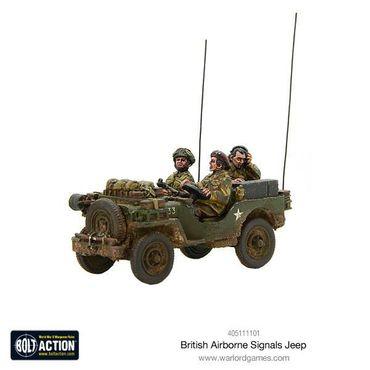 British Airborne Signals Jeep 28mm – Bild 1